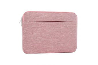 (13.3 Inch, sleeve-pink) - Laptop Sleeve 13-34cm , ATailorBird Notebook Protective Bag Carrying Case Water-Repellent with Accessory Pocket For Ultrabook Tablet Cover Case, Pink
