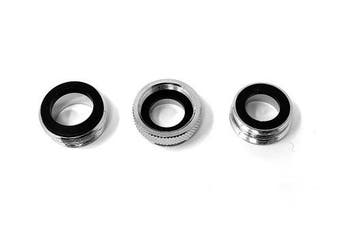 Oral Breeze Quickbreeze Faucet Adaptors, 70cm Thread, Includes 3 Adaptors