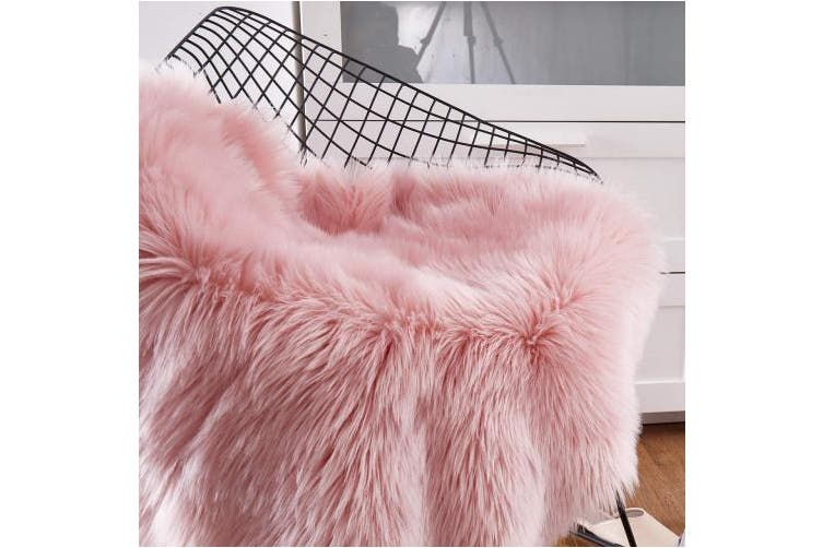 Hequn Faux Fur Rug Soft Fluffy