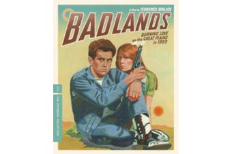 Badlands - The Criterion Collection [Region B] [Blu-ray]