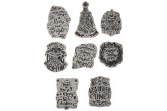 Stampers Anonymous CMS287 Tim Holtz Cling Stamps 18cm x 22cm -Doodle Greetings