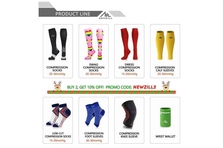 (30cm  - 38cm  Calf (S/M), Solid White) - NEWZILL Compression Calf Sleeves (20-30mmHg) for Men & Women - Perfect Option to Our Compression Socks - for Running, Shin Splint, Medical, Travel, Nursing