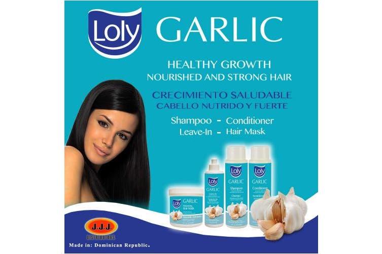 Loly Garlic Mask Treatment With Garlic 470ml