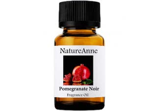 Pomegranate Noir Premium Grade Fragrance Oil - 10ml - Scented Oil - for Diffuser Oils, Making Soap, Candles, Lotion, Home Scents, Linen Spray, Lotion, Perfume, Beard Oil,