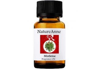 Mistletoe Premium Grade Fragrance Oil - 10ml - Scented Oil - for Diffuser Oils, Making Soap, Candles, Lotion, Home Scents, Linen Spray, Lotion, Perfume, Beard Oil,