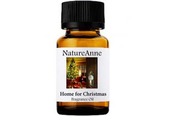 Home For Christmas Premium Grade Fragrance Oil - 10ml - Scented Oil - for Diffuser Oils, Making Soap, Candles, Lotion, Home Scents, Linen Spray, Lotion, Perfume, Beard Oil,