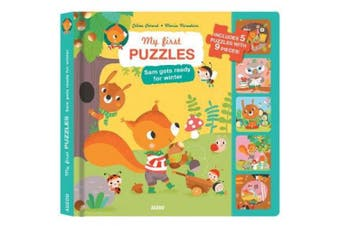 My First Puzzles: Sam Gets Ready For Winter (My First Puzzles) [Board book]