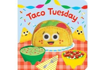 Taco Tuesday (Finger Puppet Board Book) [Board book]