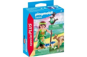 PM Playmobil Fairy with Deer