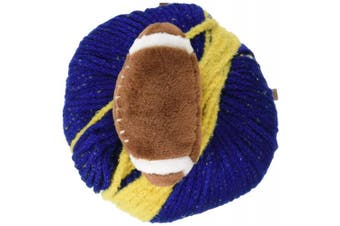 (Blue / Gold) - DMC Top This Yarn-Team Colours Blue/Gold, Youth