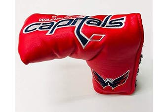 (Washington Capitals) - Team Golf NHL Golf Club Vintage Blade Putter Headcover, Form Fitting Design, Fits Scotty Cameron, Taylormade, Odyssey, Titleist, Ping, Callaway