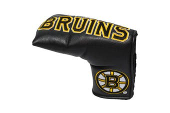 (Boston Bruins) - Team Golf NHL Golf Club Vintage Blade Putter Headcover, Form Fitting Design, Fits Scotty Cameron, Taylormade, Odyssey, Titleist, Ping, Callaway