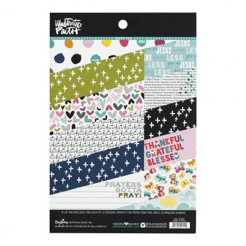 Prayers Paper Pad Illustrated Faith