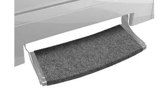 (Castle Gray) - Prest-O-Fit Castle Grey 2-0383 Step Rug Rv Outrigger Radius Xt