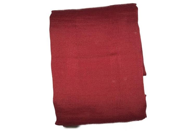 The Pioneer Woman Fabric Red Tablecloth: Harland 60 x 102