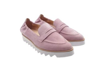 (5 UK, Pink (Mauve 4600)) - HÖGL Women's Edgy Loafers