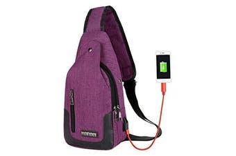 YASSUN Multipurpose Crossbody Shoulder Bag,(Unisex)Inclined Shoulder Bag,Colour 5