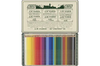 (Tin of 36) - Faber Castell Limited Edition 111th Anniversary - Tin of 36 Polychromos Artists' Pencils