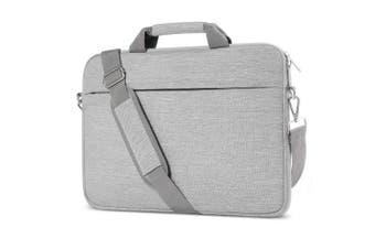 (13.3 Inch, shoulder bag) - Laptop Shoulder Bag 13-34cm , ATailorBird Notebook Shoulder Messenger Protective Bag Water-Repellent Satchel with Handle for Ultrabook Tablet Cover Case - Grey