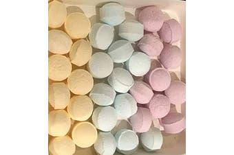 Bath Bomb Chill Pills Contains 50 Mixed Fragrances