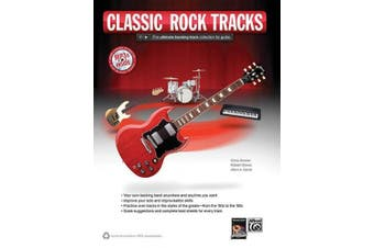Rock Guitar Tracks: The Ultimate Backing Track Collection for Guitar, Book & MP3 CD (Guitar Tracks)