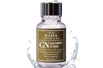 Cos De BAHA Korean Skin Care 94% Galactomyces Treatment Essence Serum 1oz with 2% Niacinamide & Hyaluronic for Face - Reduced Number of Blackheads + Brightness For Facial, 30ml