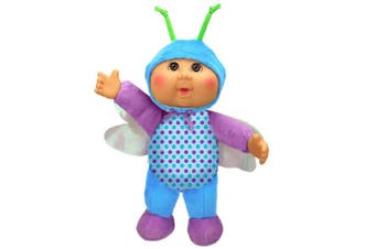 Cabbage Patch Kids Cuties Bluebell Dragonfly 23cm Soft Body Baby Doll - Garden Party Collection