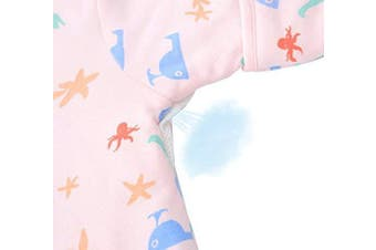(3-4.5Year, Pink Animal Park With Legs(spring/Autumn)) - Beyond Your Thoughts Baby 100% Cotton Wearable Blanket Baby Sleeping Bag Spring/Autumn/Winter (3mos-6.5year)