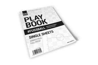(Ganzes Feld) - 1x1SPORT The Playbook # Play Football Field Templates and Football Trainer Training Aid