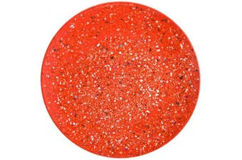(Red, Dinner Plate) - Zak Designs Confetti Plastic, Red, Dinner Plate
