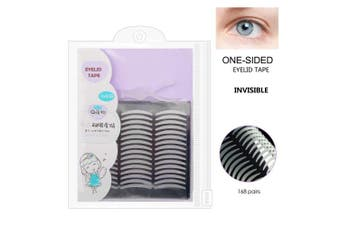 (Slim,One-sided Sticky) - Ultra Invisible Slim One-sided Sticky Eyelid Tapes Stickers Strips Fibre - Instantly Eyelid Lift without Surgery - Perfect for Hooded, Droopy, Uneven, or Mono-eyelids
