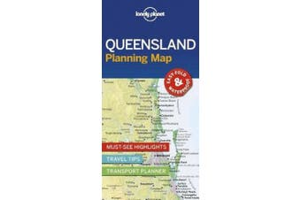 Lonely Planet Queensland Planning Map (Map)