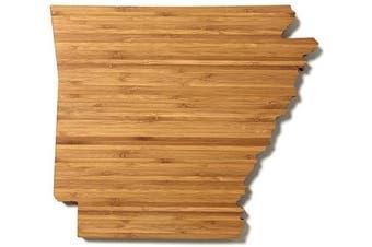 (Arkansas) - AHeirloom State of Arkansas Cutting Board, 38cm , Amber