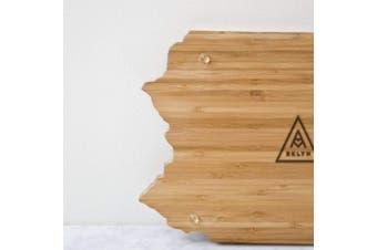 (Colorado) - AHeirloom CO State of Colorado Cutting Board, 41cm , Amber