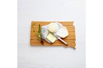 (District of Columbia) - AHeirloom DC State of District of Columbia Cutting Board 41cm Amber