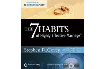 The 7 Habits of Highly Effective Marriage [Audio]