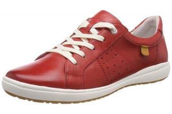 (3 UK, (Rot 400)) - Josef Seibel Women's Caren 01 Low-Top Sneakers