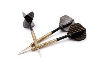 (22g, All Golden) - Black Scorpion CUESOUL Steel tip Darts Tungsten 22g/24g/26g Swift Series