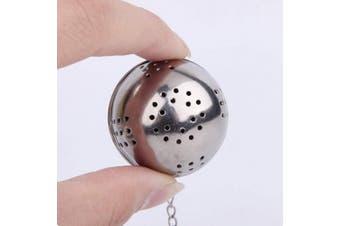BESTONZON 5 Pcs Stainless Steel Tea Strainer Tea Ball Infuser Tea Filter for Loose Leaf Tea