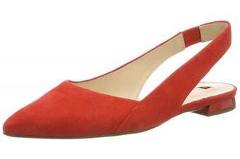 (4 UK, (Scarlet 4300)) - HÖGL Women's Kindly Ballet Flats