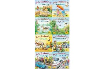 Pixi-Bundle 8er Serie 234. Pixis neue Sticker-Bücher (8x1 Exemplar) [German]