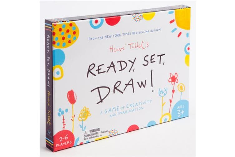 Ready, Set, Draw!: A Game of Creativity and Imagination