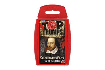 Shakespeare's Plays Top Trump Card Games