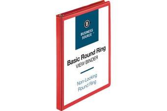 Business Source Round Ring Binder, 1.3cm Capacity (09965)