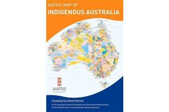 A3 fold AIATSIS map Indigenous Australia