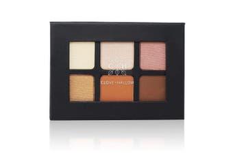 CLOVE + HALLOW Pressed Eyeshadow Palette - Organic Highlighter Makeup - Sunrise