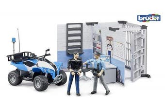 Bruder Toys Bworld Police Station