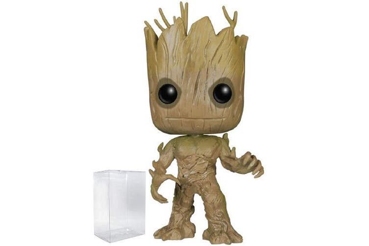 Marvel: Guardians of The Galaxy - Groot Funko Pop! Vinyl Figure (Includes Compatible Pop Box Protector Case)