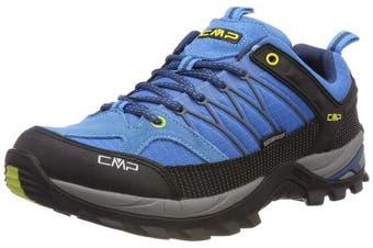 (12 UK, Turquoise (Indigo-marine 02lc)) - CMP Men's Rigel Low Rise Hiking Shoes