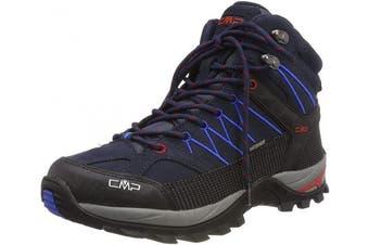 (10 UK, Blau (B.blue-royal 10nc)) - CMP – F.lli Campagnolo Men's Rigel Mid High Rise Hiking Boots, Blue B Blue Royal 10nc, 9 UK